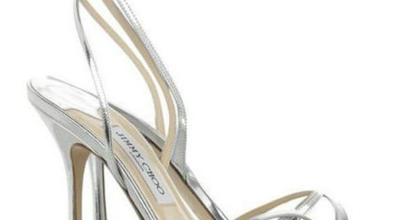 Jimmy Choo Suave Mirrored Leather Sandals Silver | Jimmy Choo Sandals ...