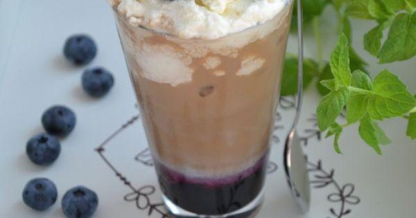 Blueberry iced coffee - Jagodowo-borówkowa kawa mrożona | Yum ...