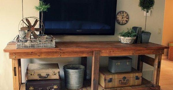 DIY Pellet ideas for Flat Screen Tvs.