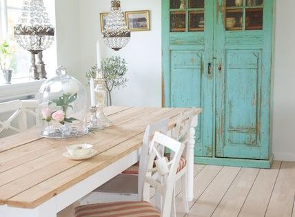 Inspiring and cute vintage dining rooms and zones dining rooms tables and chairs pinterest - Rustieke eetkamer decoratie ...