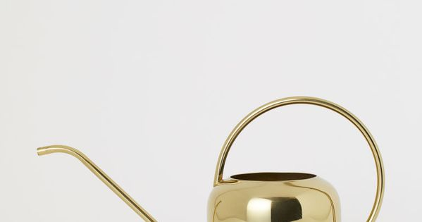 Metal Watering Can Gold Colored Home All H M Us In 2020 Metal Watering Can Watering Can H M