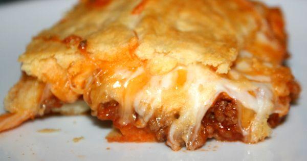 TrioOfTastebuds.com~Crescent Roll Lasagna I substituted ...