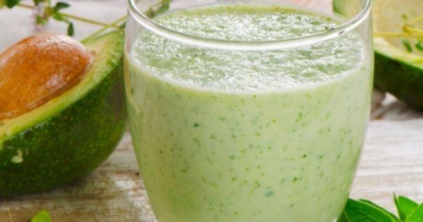 عصير الافوكادو بالحليب للرجيم Recipe Green Smoothie Recipes Breakfast Breakfast Smoothie Recipes Green Breakfast Smoothie