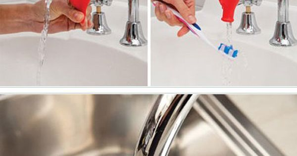 Tapi is a simple product that fits onto the faucet then when