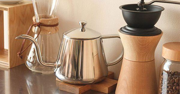 おすすめのコーヒードリップポット おしゃれ雑貨マガジン ポット おしゃれ コーヒー カフェ