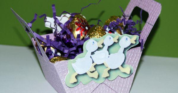 Petit panier de Pâques - Tête à modeler  Bricolage