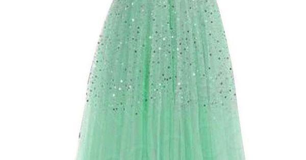 Long Sequins Prom Formal Evening Dress