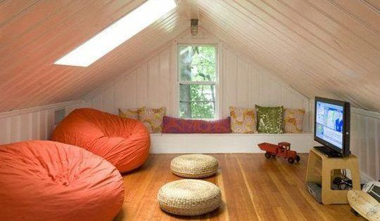 Small Space Living 12 Creative Ways To Use An Attic Space How