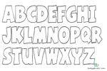 Buchstaben Ausmalen Alphabet Malvorlagen A Z Lettering Alphabet Lettering Alphabet Coloring Pages