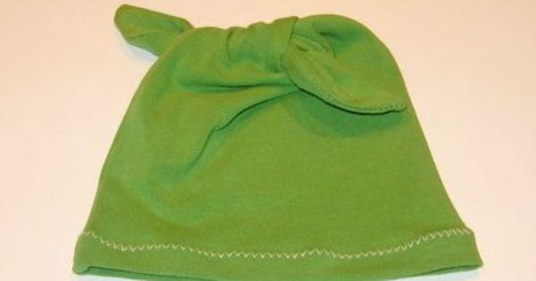 Ou fazer um manga e transformá-lo em um pequeno chapéu precioso! |