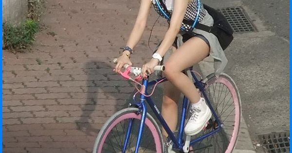 Girl On Bikes Fukuoka Japan Bike Ride Pinterest