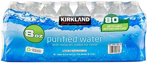 Kirkland Signature Premium Drinking Water 8 Oz 80 Count Learn