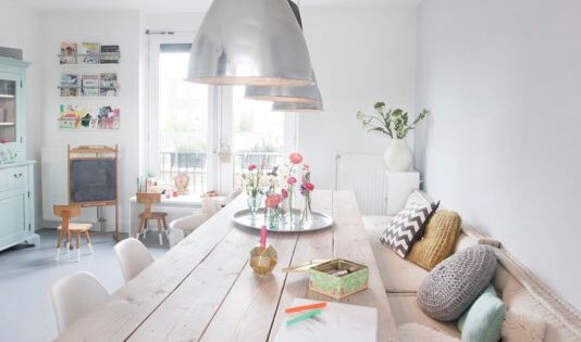 Decorating With Pastels 25 Rooms To Get Inspired By Now Industrial Home And Family Homes