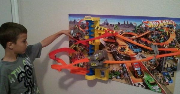 Toys For Boys Age 10 In Russian : Hot wheels wall tracks power tower set great toy for
