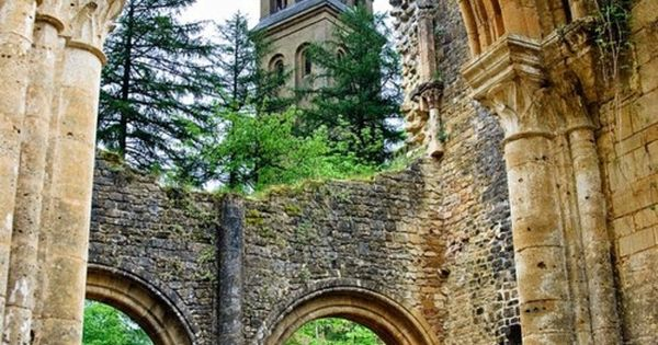 Beautiful: Orval Trappist Abbey, Belgium travel