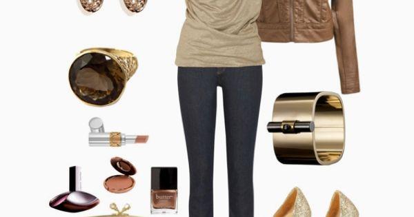 blouse; leather jacket; shoes