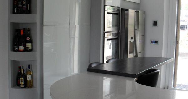 Contemporary kitchen design for small spaces - Dispensa In Cartongesso Con Nicchia Per Colonna Forno E