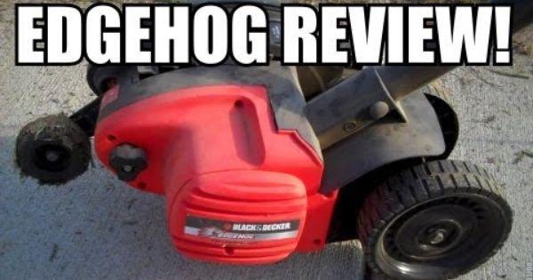 Review Black Decker 2 In 1 Edge Hog Electric Edger Youtube Lawn Edger Black Outdoor Power Equipment