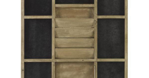 tableau m mo porte lettres range courrier bois ardoise athezza range courrier pinterest. Black Bedroom Furniture Sets. Home Design Ideas