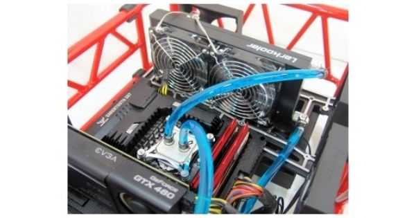 Larkooler Skywater 330 Liquid Cooling System Cpu Cooler Review