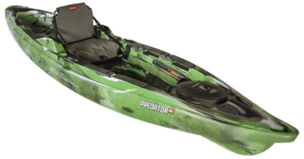 Old town predator xl angling kayak lime camo 883165 for Gander mountain fish finders