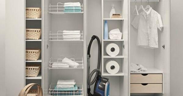 armadio lavanderia  lavanderia  Pinterest  Arredamento