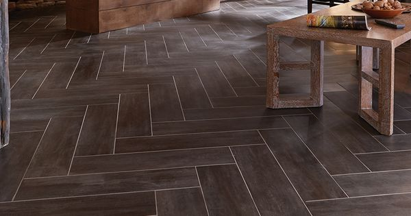 Stainmaster 174 6 In X 24 In Groutable Casa Italia Gray Brown