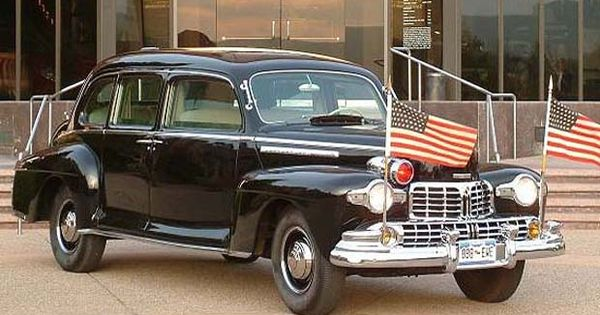One Of The Many Cars In The White House Garage In The