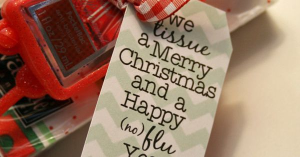 Gift Idea: We Tissue a Merry Christmas and a Happy (no) Flu