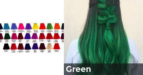 Green What Unnatural Hair Color Is For You Unnatural Hair Color Hair Color Quiz Which Hair Colour