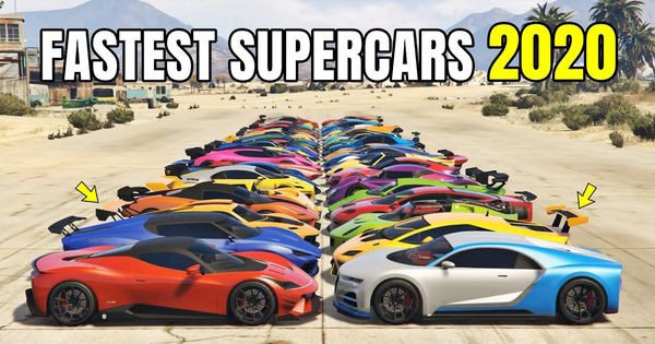 Gta 5 Online Fastest Supercars 2020 Ranked From Slowest To Fastest In 2020 Gta 5 Super Cars Gta 5 Online