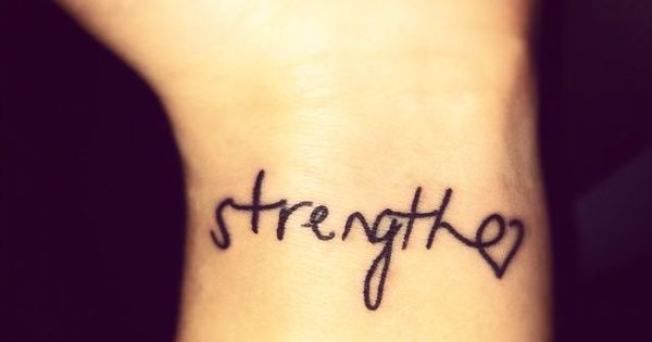 Get a chic quote tattoo for yourself and the people you for Parents against tattoos