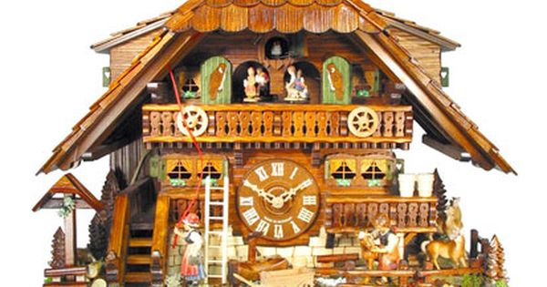 Black Forest Clock Of The Year 2010 Cuckoo Clock 8 Day