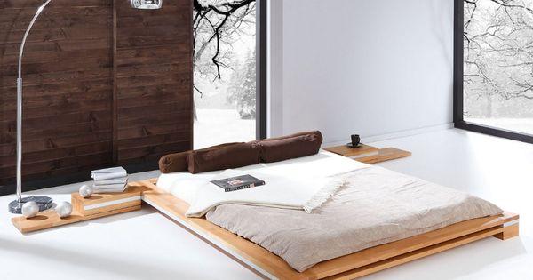 Lit japonais pour futon odayakana le japonais appart for Meuble chambre japonais