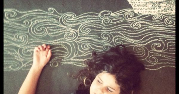 Things To Draw On Chalkboard Wall