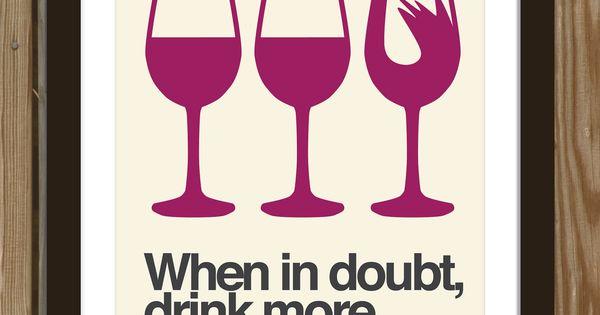 true story. wine