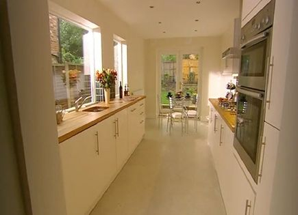 Kitchen Idea Long Narrow Kitchen Design With Window Over Sink Sink N Window Check Dunno If