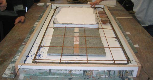 küchenarbeitsplatte aus beton | Ideen rund ums Haus | Pinterest | {Küchenarbeitsplatte aus beton 3}