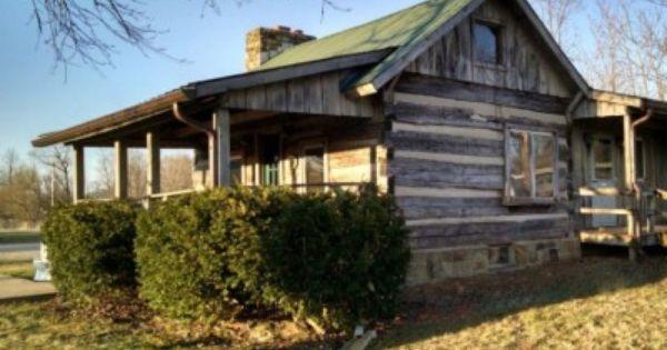 Bluegrass Log Cabin Near Bill Monroe Festival In Brown County Indiana Brown County Indiana House Styles Brown County