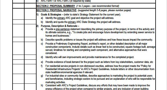 Construction Proposal Template 10 Free Word Excel Pdf
