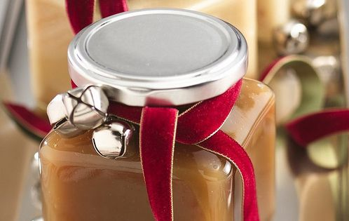 DIY gifts caramel sauce homemade GIFT IDEA