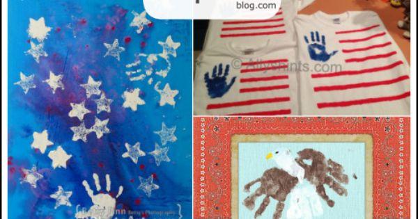 memorial day handprint craft