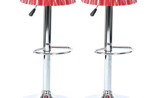 Metro Lane Pomona Height Adjustable Swivel Bar Stool Bar Stools