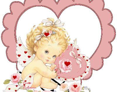 Epingle Par Puddykat Sur Ange Saint Valentin Belle Carte Coloriage