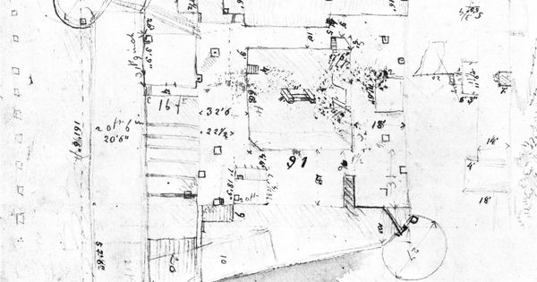 james abert u0026 39 s diagram of bent u0026 39 s fort