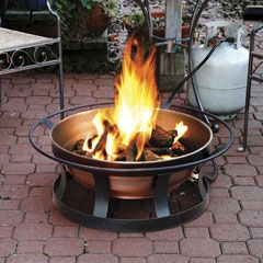 Camp Chef Del Rio Propane Fire Pit Provides A Patio Campfire Without The Mess Fire Pit Fire Pit Uses Garden Fire Pit