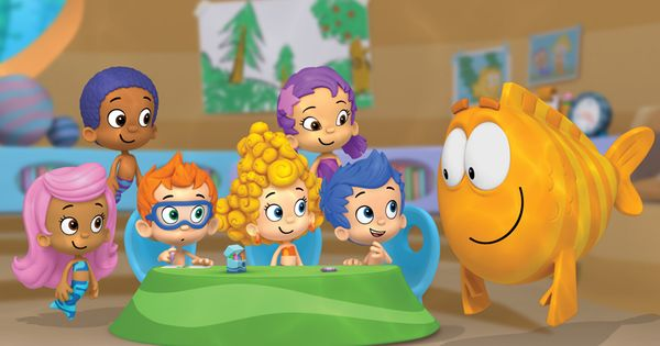 Bubble Guppies Cake Topper by SimplyRJM on Etsy, $9.00