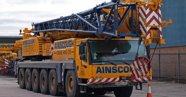 Mobile Crane Explained : Liebherr ainscough mobiele kranen wheels