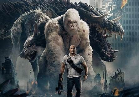 Rampage 2018 Tamil Dubbed Movie Dvdscr 720p Watch Online Rampage Movie Movies Online Dwayne Johnson