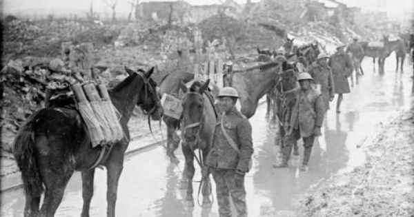 9 12 April 1917 The Canadians Obtain A Significant Victory In The Battle Of Vimy Ridge Part Of The First Phase Of The War Horse Canadian Soldiers World War
